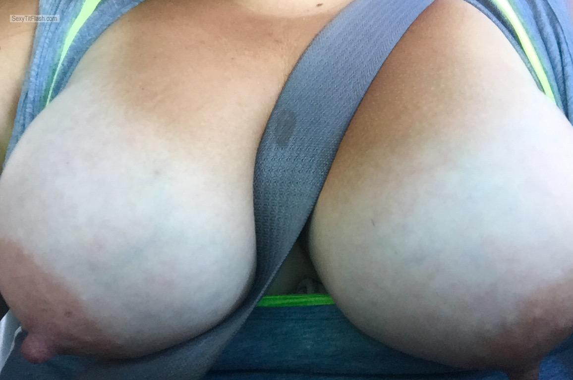 Tit Flash: My Big Tits (Selfie) - Lonely.Sam from United States